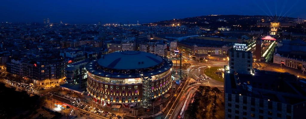 Alquiler para eventos, Cúpula Las Arenas Barcelona